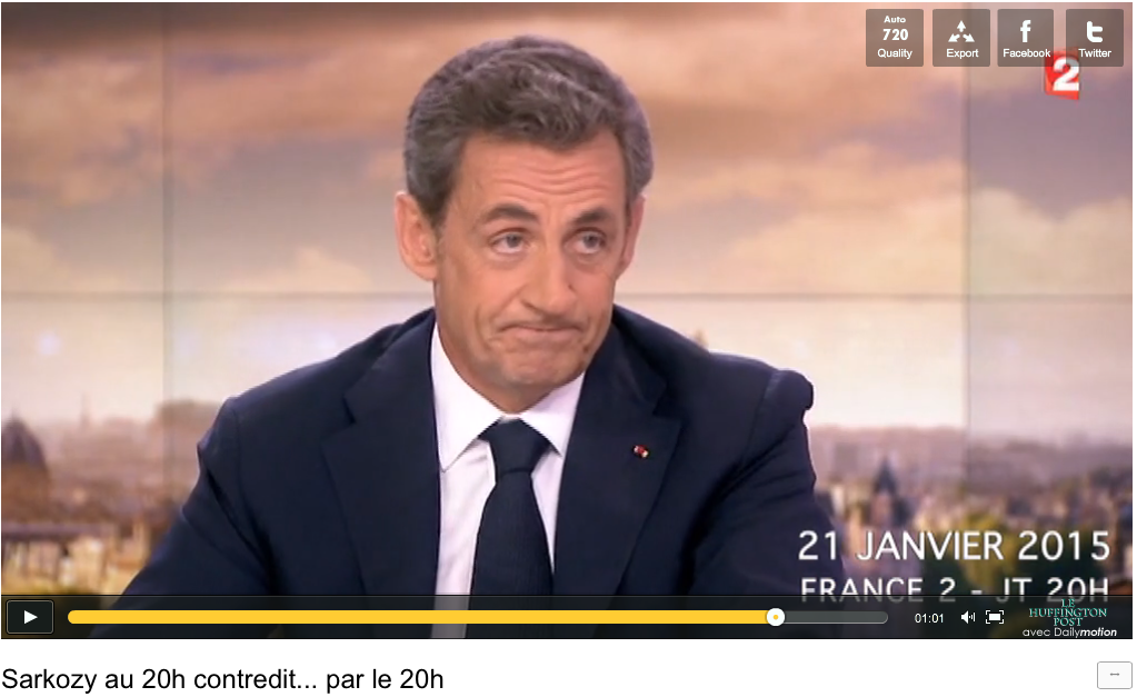 Sarkozy Huffington Post